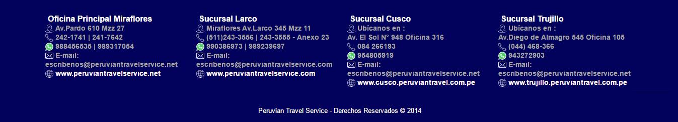 sitio web de  Oficina Principal Miraflores